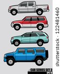 cars series set 3 | Shutterstock .eps vector #122481460