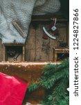 swedish christmas. gluten free...   Shutterstock . vector #1224827866