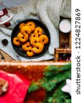 swedish christmas. gluten free...   Shutterstock . vector #1224827869