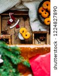 swedish christmas. gluten free...   Shutterstock . vector #1224827890