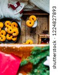 swedish christmas. gluten free...   Shutterstock . vector #1224827893