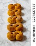 swedish christmas. gluten free...   Shutterstock . vector #1224827896