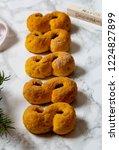 swedish christmas. gluten free...   Shutterstock . vector #1224827899