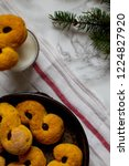 swedish christmas. gluten free...   Shutterstock . vector #1224827920