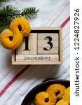 swedish christmas. gluten free...   Shutterstock . vector #1224827926