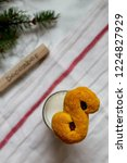 swedish christmas. gluten free...   Shutterstock . vector #1224827929