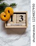 swedish christmas. gluten free...   Shutterstock . vector #1224827950