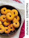 swedish christmas. gluten free...   Shutterstock . vector #1224827956