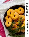 swedish christmas. gluten free...   Shutterstock . vector #1224827959
