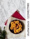 swedish christmas. gluten free...   Shutterstock . vector #1224827980