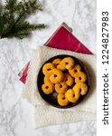 swedish christmas. gluten free...   Shutterstock . vector #1224827983