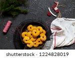 swedish christmas. gluten free...   Shutterstock . vector #1224828019