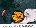 swedish christmas. gluten free...   Shutterstock . vector #1224828040