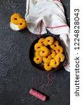 swedish christmas. gluten free...   Shutterstock . vector #1224828043