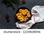swedish christmas. gluten free...   Shutterstock . vector #1224828046