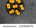 swedish christmas. gluten free...   Shutterstock . vector #1224828070