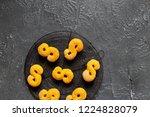 swedish christmas. gluten free...   Shutterstock . vector #1224828079