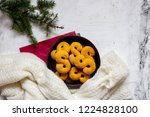 swedish christmas. gluten free...   Shutterstock . vector #1224828100