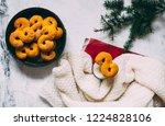 swedish christmas. gluten free...   Shutterstock . vector #1224828106