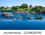 the nile is the longest river... | Shutterstock . vector #1224830290