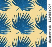 creative seamless pattern with... | Shutterstock . vector #1224856009