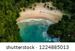Small photo of Port Antonio Jamaica Frenchman's Cove Aerial Footage Birds View