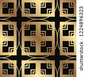 art deco vintage seamless... | Shutterstock .eps vector #1224896323