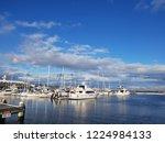 the beautiful cloud blue sky...   Shutterstock . vector #1224984133