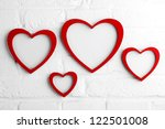 Heart Picture Frame On White...