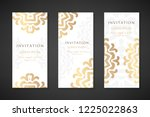invitation templates. cover... | Shutterstock .eps vector #1225022863