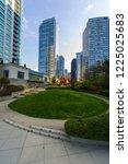 roof park at coal harbor...   Shutterstock . vector #1225025683