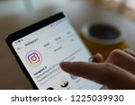 penang  malaysia   25 oct 2018  ... | Shutterstock . vector #1225039930