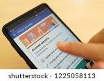penang  malaysia   25 oct 2018  ... | Shutterstock . vector #1225058113