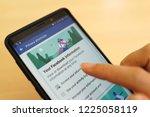 penang  malaysia   25 oct 2018  ... | Shutterstock . vector #1225058119