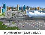 a vector illustration of... | Shutterstock .eps vector #1225058233