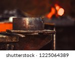 high precision hot forging... | Shutterstock . vector #1225064389