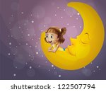 Illustration Of A Girl And The...