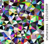 abstract background multicolor... | Shutterstock . vector #1225105039