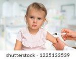 pediatrician doctor is... | Shutterstock . vector #1225133539