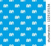reel tape recorder pattern... | Shutterstock .eps vector #1225135156
