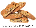 round cereal biscuits with... | Shutterstock . vector #1225144516