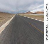 wild field highway   Shutterstock . vector #1225146946
