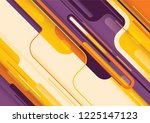modish wallpaper design in... | Shutterstock .eps vector #1225147123