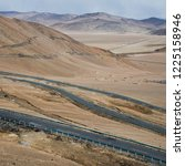 wild field highway    Shutterstock . vector #1225158946