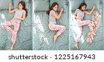 Beautiful Woman Sleeping In...