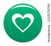 huge heart icon. simple...   Shutterstock . vector #1225170703
