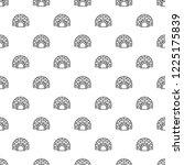 arctic igloo pattern seamless... | Shutterstock . vector #1225175839
