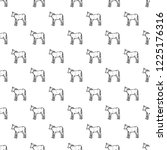 veal pattern seamless repeat... | Shutterstock . vector #1225176316