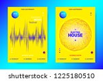 electronic night party... | Shutterstock .eps vector #1225180510