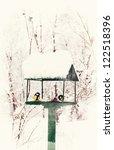 Bird Feeders In The Winter Snow ...